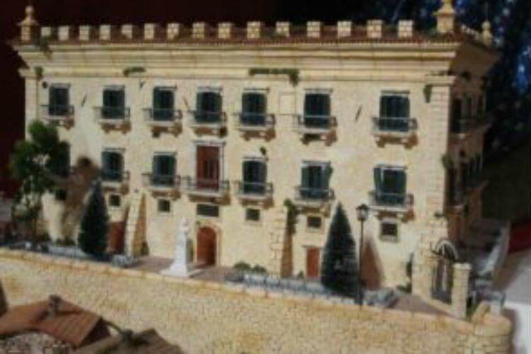 Presepe monumentale presso locali ex scuderia di Leonforte