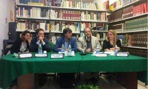 Tavolo dei relatoriCianchetti Vecchio Zambito Pira Alesci