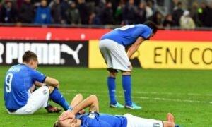 Italia-Svezia 0-0: azzurri fuori dai mondiali, non accadeva da 60 anni