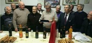 Enna: al centro anziani Don Leo Vetri Festa per i 90 anni di Giovanni Trifirò