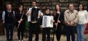 Concerto di flauti e fisarmoniche presso biblioteca comunale di Nissoria
