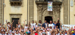 """Grande Iniziativa sportiva di Volley a Regalbuto. Il Vice Sindaco Giaggeri """"Lo sport come crescita della Comunita"""""""